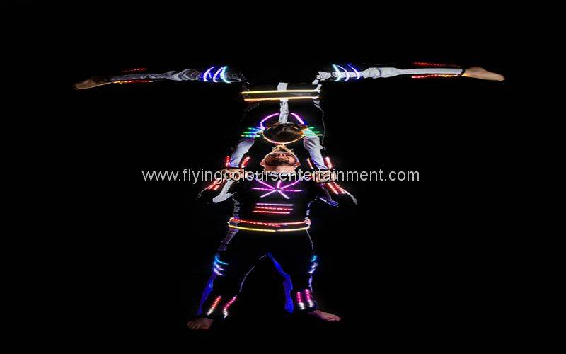 Glow LED Light Acrobats
