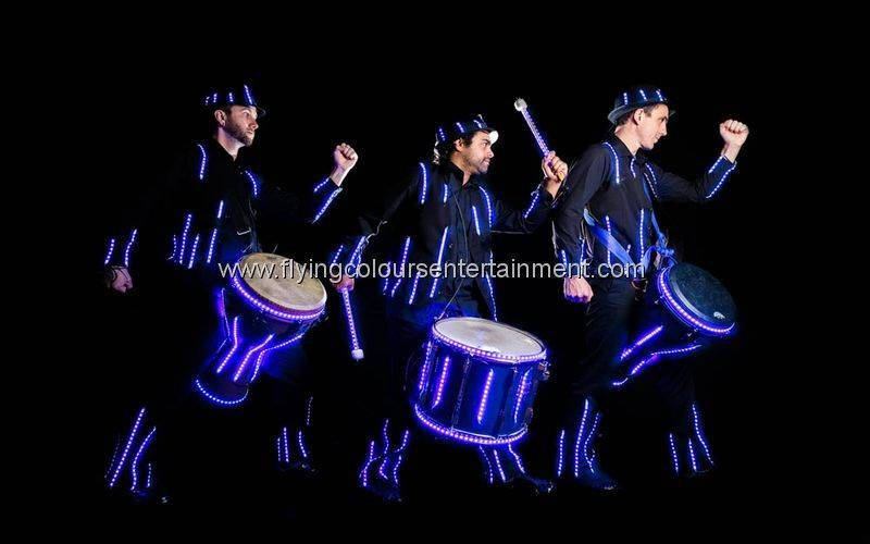Glow LED Light Drummers
