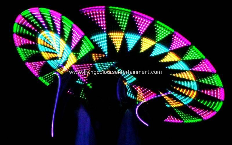 Glow LED Light Roaming Performances