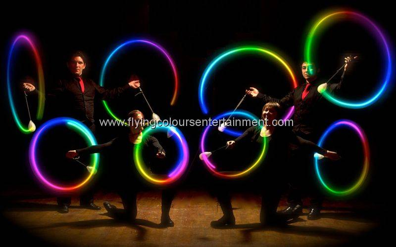 Glow LED Light Spinners